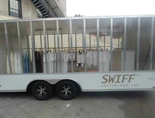 Swiff Brand Clothing Sets Up on King Street