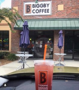 coffee shop in Goose Creek, West Ashley, Summerville, North Charleston