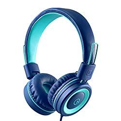 kids stereo headphones