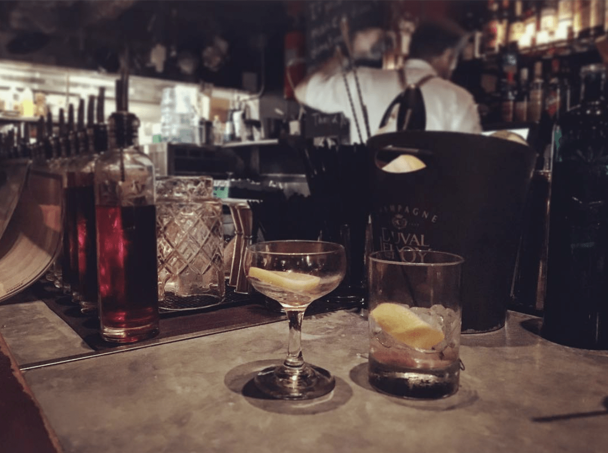Drinks and Bar at Proof