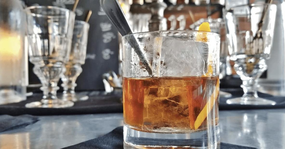 Old Fashioned at Proof Bar Charleston