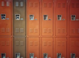A Line of Lockers